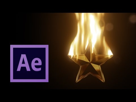 🔥 Realistic FIRE Simulation! - After Effects TUTORIAL