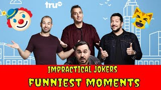 Impractical Jokers Funniest Moments - Try Not To Laugh #8