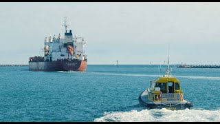 homepage tile video photo for Saab's Port Management app streamlines Pilot operations at Flinders Ports, Australia