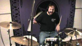 Slayer - South of Heaven (Drum Cover) - Roy Van Tassel - NJ Drum School