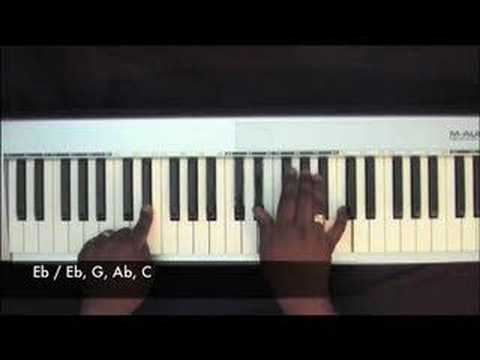 Lift Him Up - Hezekiah Walker - Piano Tutorial