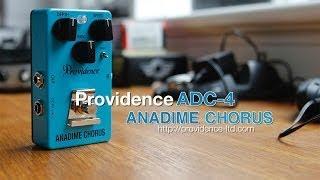 Providence : ADC-4 ANADIME CHORUS - Strat to Laney Demo