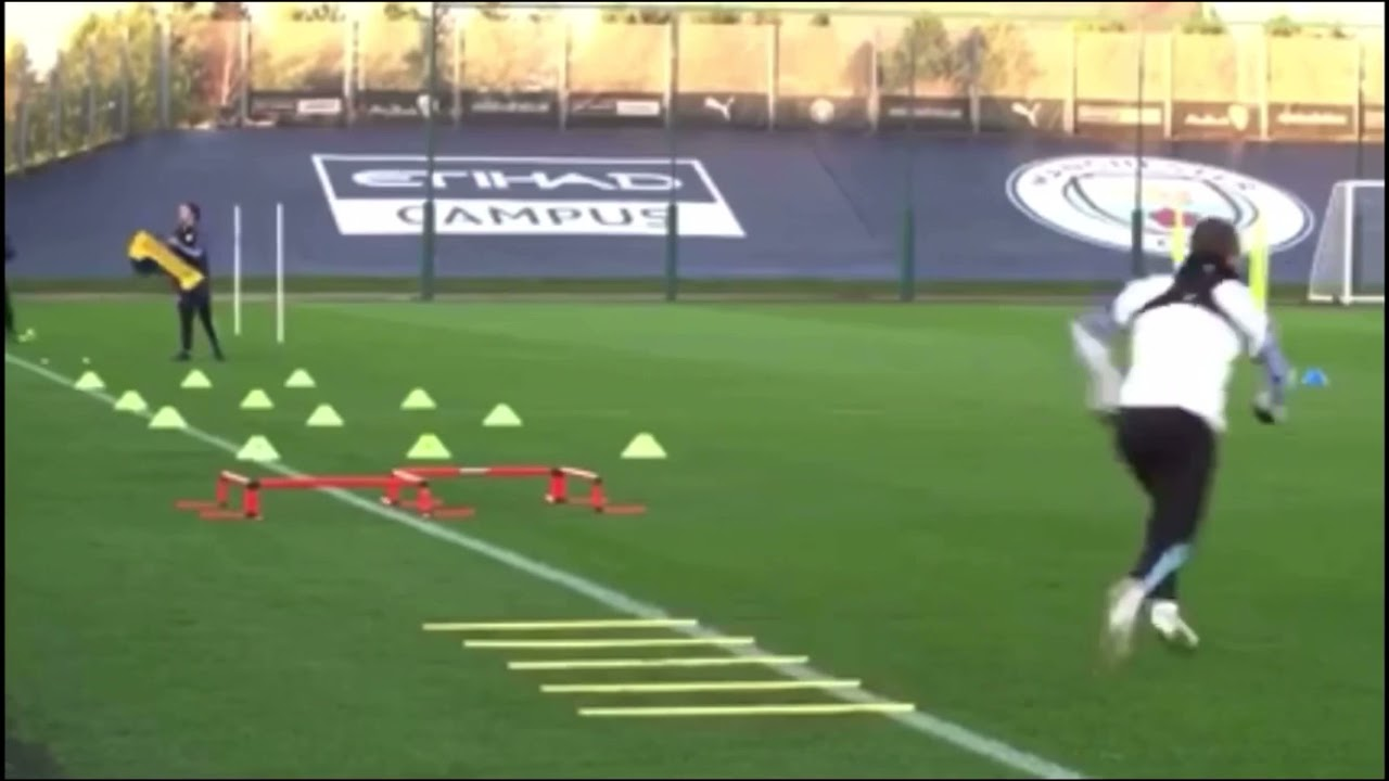 Manchester City F.C. - strength and SAQ circuit