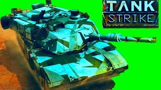 Новый онлайн мультик TANK STRIKE#2 Война танков много оружия новых танков Видео для детей.