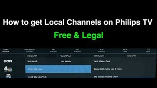 How to Get Local Channels on P…