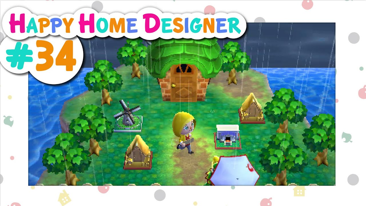 Animal Crossing Happy Home Designer 34 Miniature Village Youtube