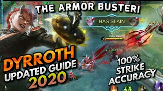 dyrroth Updated Guide | Best Build, Best Emblem, Skill Combo, Spell Choice, Tips & Tricks 2020