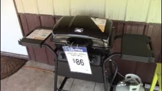 Testing Out Walmarts Cheapest Propane Grill