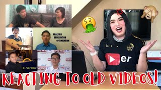 Reacting To My Old Videos - Tita Krissy Achino | MAKIKILALA NIYO NA SI BADONG!!! OMG!!!