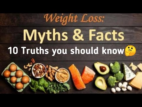 Weight Loss Tips In Tamil 10 Myths And Facts You Should Know Easy Weight Loss Foods Sam S Health And Fitness