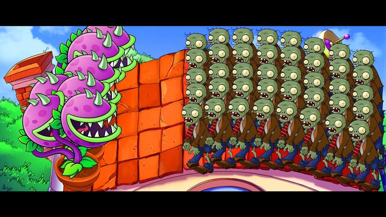 Plants vs Zombies - Adventure Mode: Roof