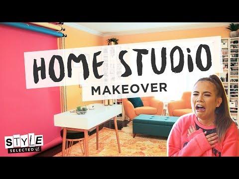 YOUTUBER STUDIO MAKEOVER ft. Adelaine Morin   Style Selected