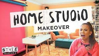 YOUTUBER STUDIO MAKEOVER ft. Adelaine Morin | Style Selected
