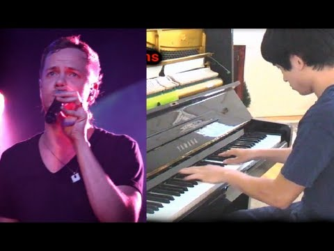 Imagine Dragons - Demons w/ Lyrics (Piano Cover)