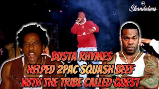 Busta Rhymes Tells Fat Joe That He Helped 2Pac Squash Tribe Called Quest Beef | 2020