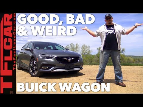 What's Good, Bad, and Weird about the 2018 Buick Regal TourX Wagon