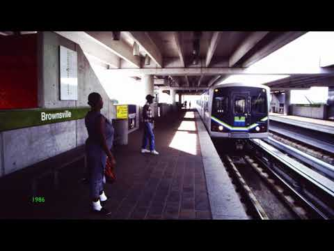 Miami Metrorail - Farewell Budd Cars of 1983