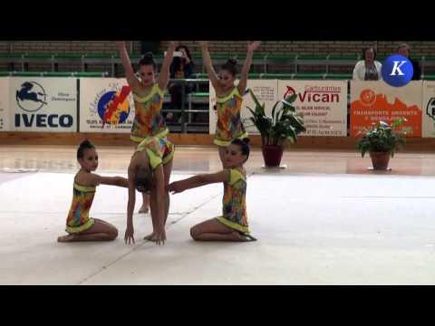 IV Torneo Ciudad de Carmona de Gimnasia rítmica - benjamín