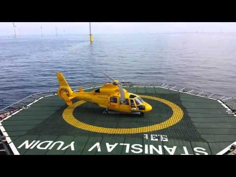 HLV Stanislav Yudin Offshore crew Change