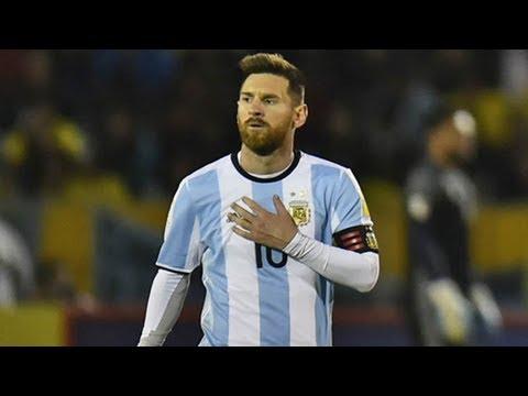 Lionel messi: argentina hero already back at barcelona