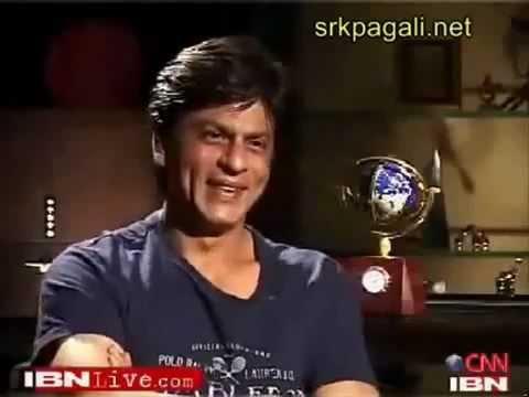 Shahrukh khan interview with Rajdeep Sardesai part 1