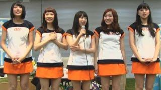 2014年8月27日 愛媛発のご当地アイドルユニット「ひめキュンフルーツ缶...