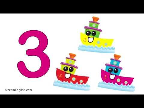 Counting Transportation Song for Kids   Preschool, Learn English, Kindergarten