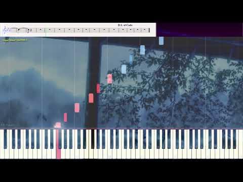 Twilight Wanderings -  F'lar Ausburn (Ноты и Видеоурок для фортепиано) (piano Cover)