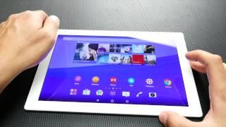 Sony Xperia Z4 Tablet hands-on (Greek)