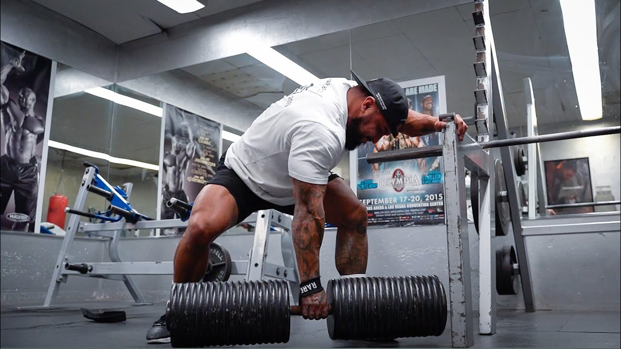 The Lightest Man To Ever Lift The Heaviest Dumbbell In The World 375lb