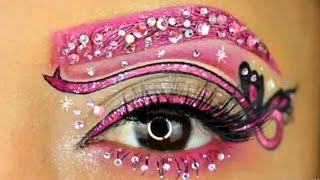 Удивительный макияж глаз 2017 Eye Makeup Compilation 2017 1