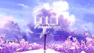 ♩ Vietsub ⋅ Don't Forget ⋅ iKON