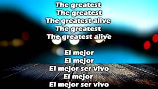 The Greatest Sia  Español e ingles  Letra