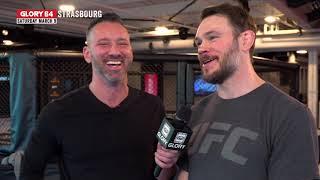 Todd Grisham talks GLORY with Forrest Griffin