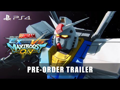 MOBILE SUIT GUNDAM EXTREME VS. MAXIBOOST ON – Pre-Order Trailer