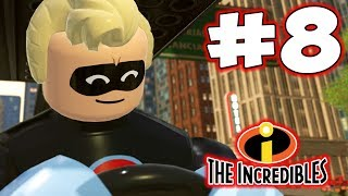 LEGO INCREDIBLES - Part 8 - Classic Incredible! (HD Gameplay Walkthrough)