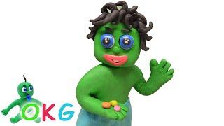 Selling Magic Seeds Stop Motion   OKG Kids Cartoons & Baby Videos
