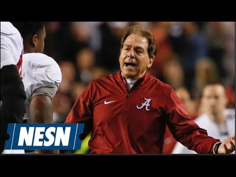 CFP Playoff Field Set: Alabama Sneaks In Over Ohio State