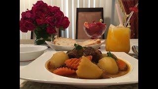 Ragu bò thơm ngon kiểu Mỹ !  Delicious beef stew  !!!