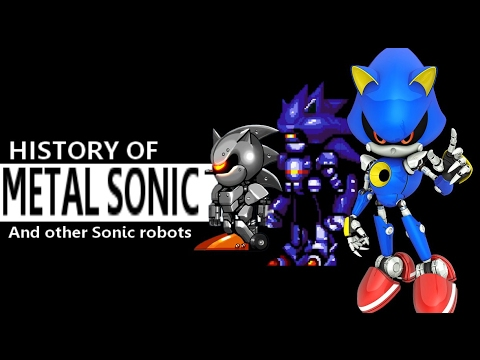 History Of Metal Sonic And Other Sonic Robots Youtube