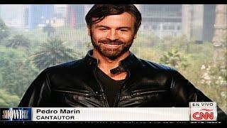"Pedro Marin Interview CNN International. ""Hombre Mecánico"" + video ""Que no"" 2014"