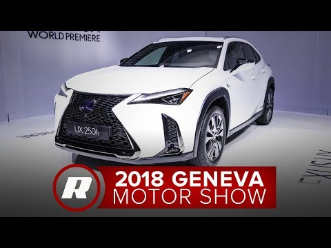 2019 Lexus UX F Sport Is Meant For The City - 2018 Geneva Motor Show