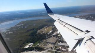 Landing In Charleston, South Carolina