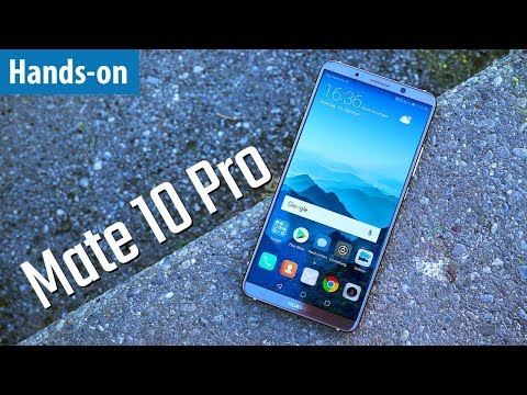 KI-SMARTPHONE - Huawei Mate 10 Pro - Hands-on / Erster Test