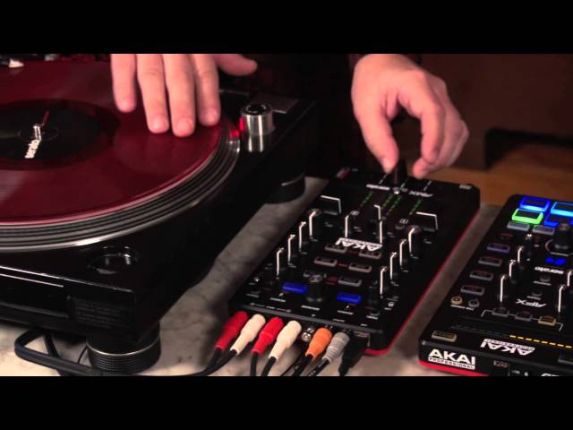 Akai Professional AFX and AMX Controllers for Serato DJ