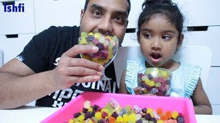 Daddy & Ishfi's Candy Unboxing