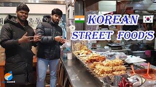 Korean Street Food's Tamil | Vlog | Theera Payanam