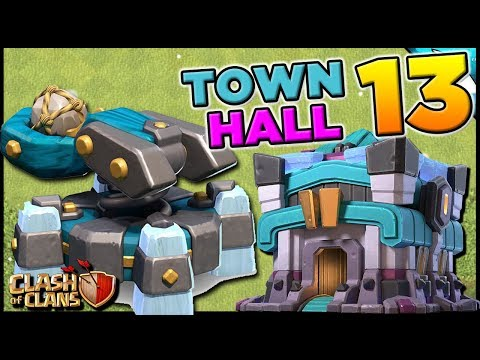 NEW Defense For Town Hall 13! Scattershot Gameplay | Clash Of Clans