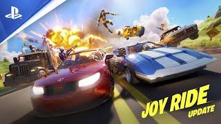 Fortnite | The Joy Ride Update | PS4