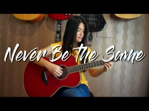 camila cabello never be the same josephine alexandra fingerstyle guitar cover